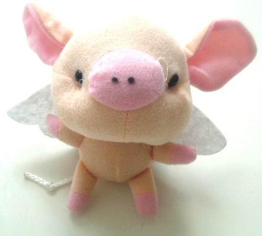 他是一只很善良很可爱的小猪